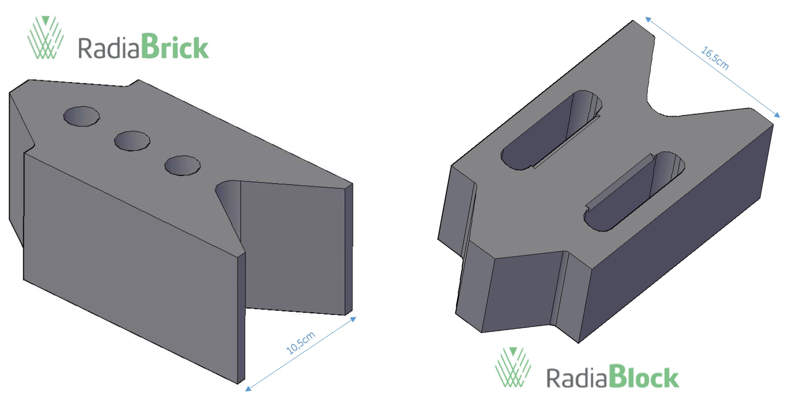 Modelos de bloques de barita